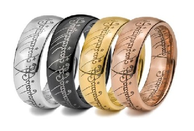 different materials wedding bands